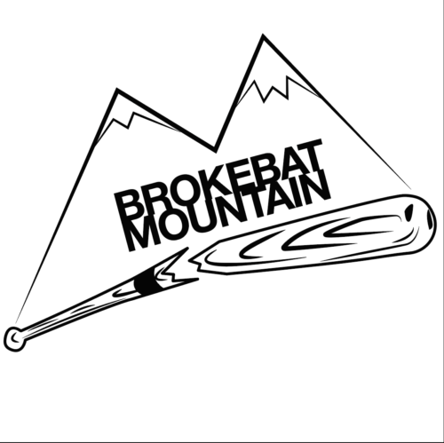 Brokebat Mountain Softball Team Logo